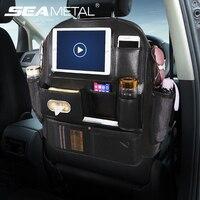 Car Back Seat Organizer Accessories Auto Seat Bag Organizer for Car Universal Automobiles Interior Travel Storage Pocket Bags