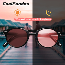 Brand Photochromic Women Sunglasses Polarized Candy Tinted Lens Vintage Sun Glasses Female For Men Women Driving Oculos de sol