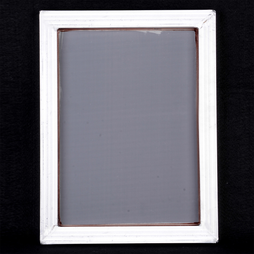 A3 Silk Screen Printing Aluminum Frame with White 43T Silk Print Polyester Mesh for High-precision Printed Circuit Boards Mayitr