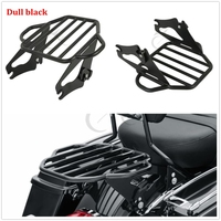 Motorcycle Detachable Two Up Tour Pak Mounting Luggage Rack For Harley Touring Street Glide Road Glide 2009 2018