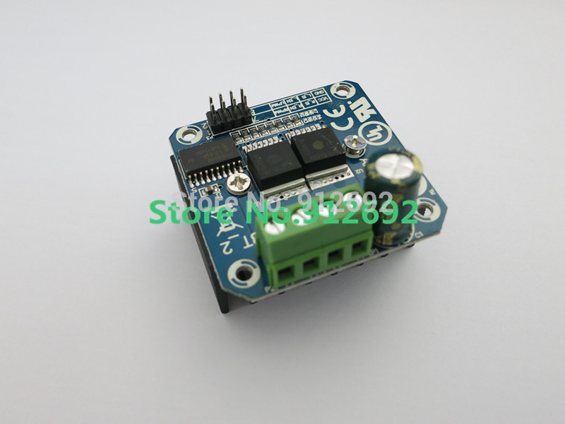 Active Components High-power Smart Car Motor Drive Module Bts7960 43a Semiconductor Refrigeration Drive Electronic Components & Supplies