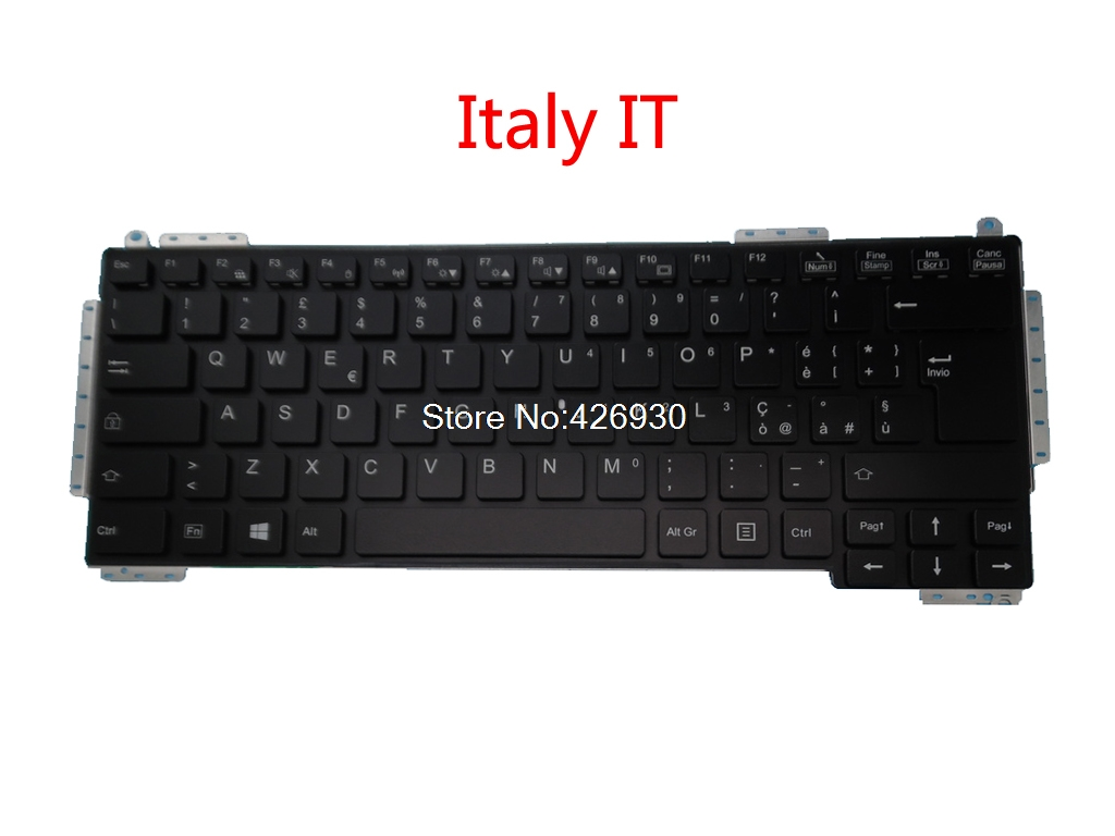 Laptop Keyboard For Fujitsu S904 S935 S936 S937 T904 T935 T936 T937 U904 Backlit Italy IT