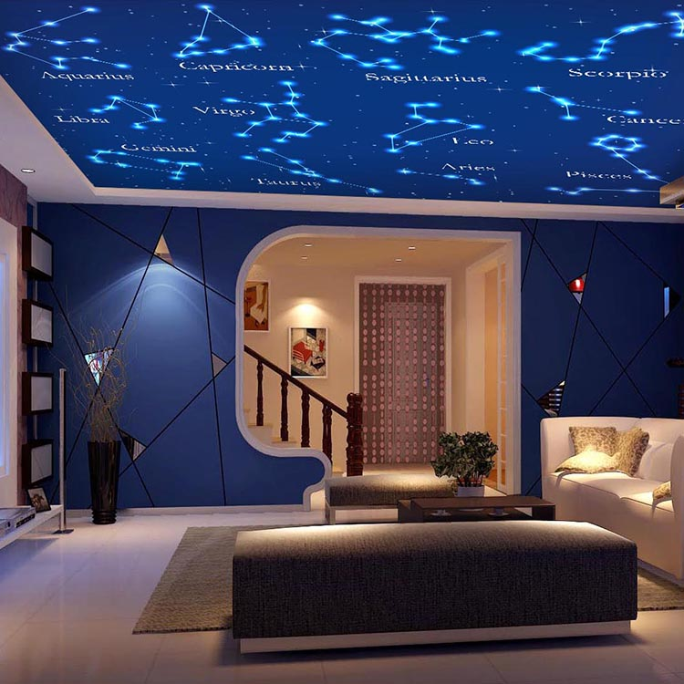 Popular constellation ceiling buy cheap constellation for Constellation ceiling mural