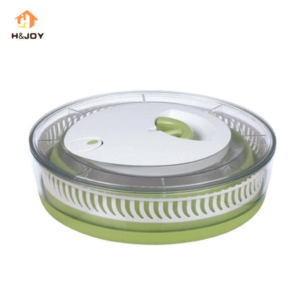 Multi-use Collapsible Salad Spinner Salad Dryer Place Saving Salad Bowl Manual Veggie & Lettuce Dryer Vegetable Container