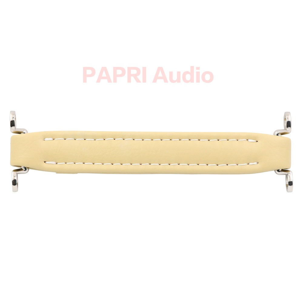 PAPRI Cream Vintage Guitar Amplifier Leather Handle For Audio HIFI Speaker Cabinet Instrument Fender Ampeg Vox AH3/AH2 1PCS