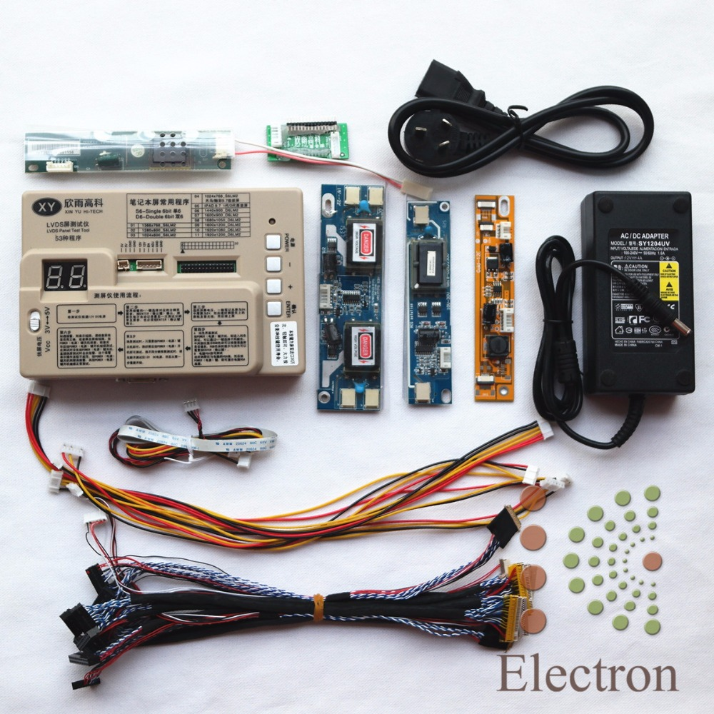 Panel Tester,LED LCD Screen Tester Tool Kit For Computer TV Repair Support 7-65''