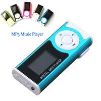 Portable Mini USB Clip LCD Screen MP3 Music Player Support TF SD Card Earphone Digital Media