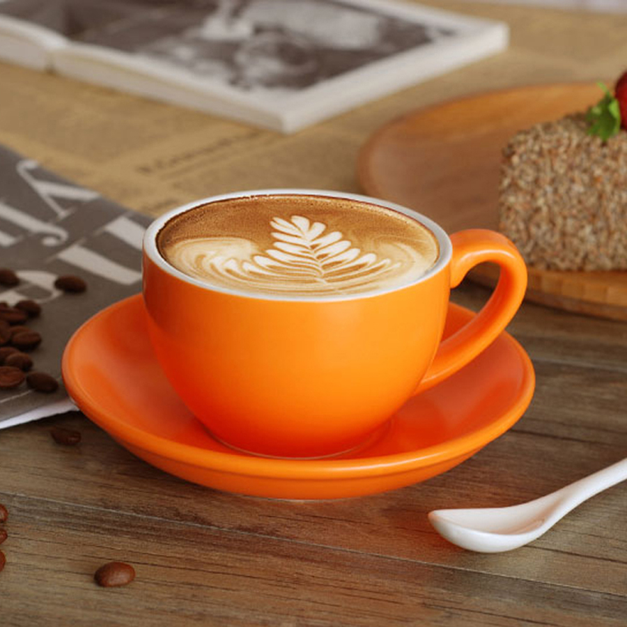 Europe Creative tasse à café en céramique cadeau ensemble thé sûr tasse à thé poignée belle élégante meilleures tasses boissons porcelaine expresso tasses 5
