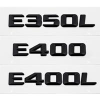 For Mercedes Benz W110 W114 W115 W123 W124 W210 W211 W212 Car Trunk Lid Rear Emblem Badge Logo Chrome Letter E350L E400 E400L