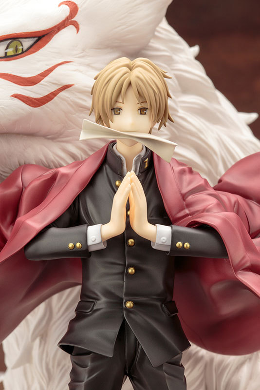 22 cm Natsume Takashi Action Figure Japan ARTFX J PVC Collection Model Toys Gifts ornaments car decoration anime fans gifts action figure natsume takashi natsume s book of friends backpack hand animation pvc 18cm collectible model gift dolls anime