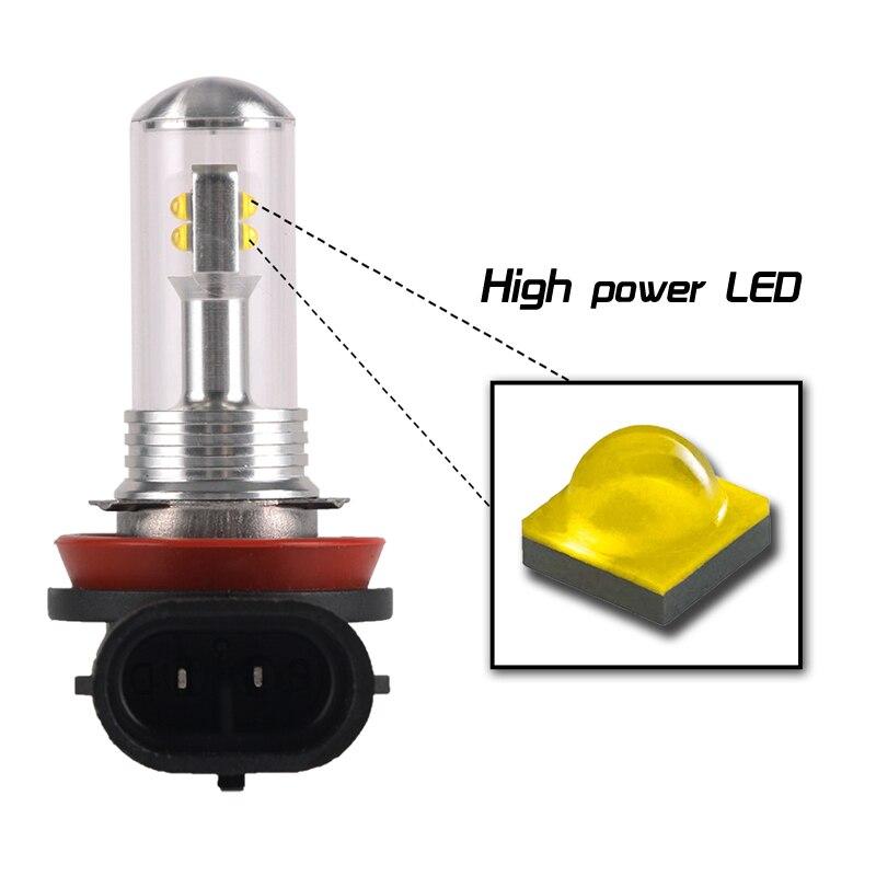 9005 hb3 9006 hb4 LED Headlight bulb 12 CREE 60W Car Fog Driving light White 12V