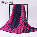 QingTeng 2017 Fashion Cashmere Scarf Women Wool Winter Scarves Women Spain Plaid Thick Brands Girls Shawls And Scarves Foulard