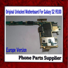 DHL Free Shipping Unlocked Europe Version i9100 Motherboard For Samsung Galaxy S2 i9100 Motherboard & Original