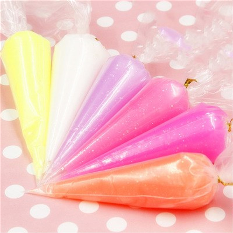 Fun Simulation Lightweight Cream Soil Clay Crystal Slime Cake Kids Gift Anti-stress Toys Plasticine Diy Craft Paper Play