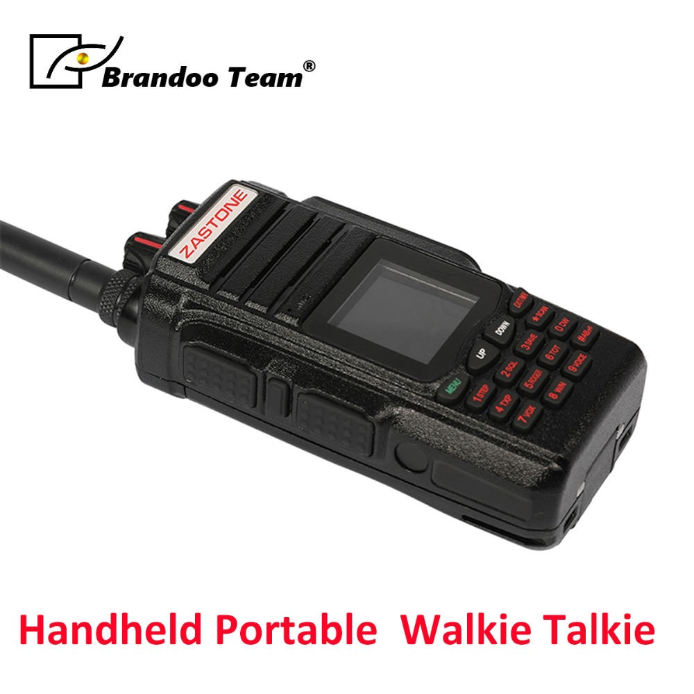 Two Way Radio Tragbare Walkie Talkie Uhf Vhf 10 W Radio 2800 Mah 999ch Ham Radio Türsprechstelle Freies Verschiffen Audio Intercom