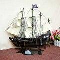 2017 новый металл ретро пиратский корабль модель Ручной ремесел украшения дома аксессуары
