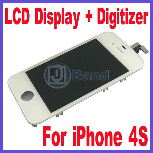 ФОТО Quality Guaranteed For iPhone 4S LCD Display Screen WIth Touch Panel Digitizer Free Shipping