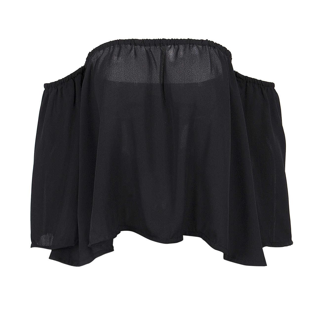 ホット女性の女性の夏レースオフショルダーカジュアルブラウスレディースセクシーな服シャツ