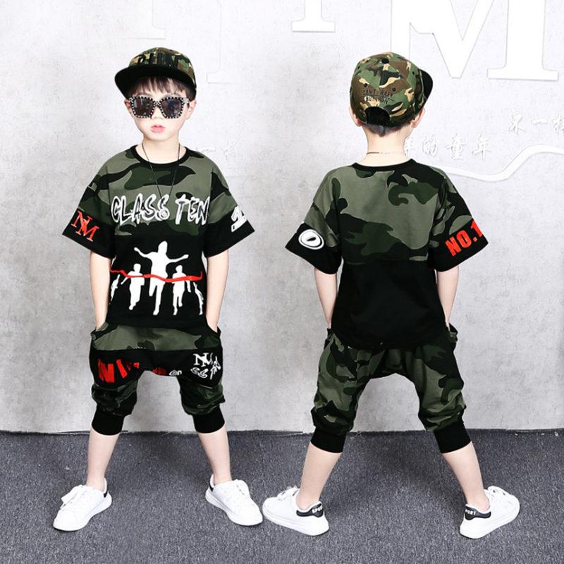 Children-Boys Summer Clothing Suit