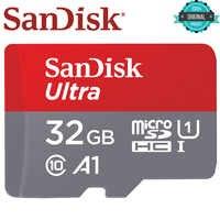 SanDisk Speicher Karte 16GB 128GB 64GB 98 MB/S 32GB Micro sd karte A1 Class10 UHS-1 flash karte Speicher Microsd TF/SD Karten für Tablet