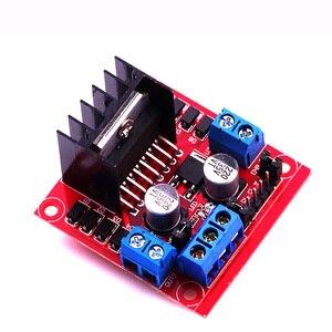 Image 3 - 10pcs L298 Motor Driver Board Module Stepper Motor Robot Car L298N Peltier High Power Breadboard For Arduino Motor Driver