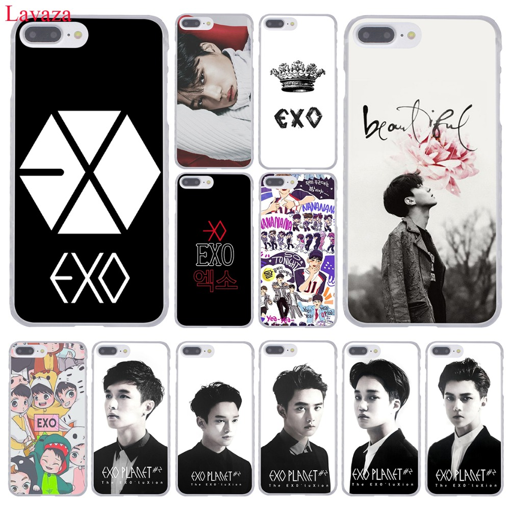 Lavaza <font><b>Kpop</b></font> exo Lucky one Hard Phone <font><b>Case</b></font> for <font><b>iPhone</b></font> XR XS X 11 Pro Max 10 7 8 6 6S 5 5S SE 4S 4 Cover image