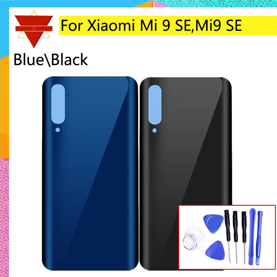 Mi9 SE New Rear Housing <font><b>Cover</b></font> For <font><b>Xiaomi</b></font> <font><b>Mi</b></font> <font><b>9</b></font> SE Mi9 SE Rear <font><b>battery</b></font> <font><b>Cover</b></font> back <font><b>cover</b></font> houisng Door Case Chassis image