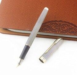 Luksusowe Jinhao nowy kolor wieczne pióro Iraurita 0.5 MM F stalówka pióra biurowe artykuły biurowe ekskluzywny prezent caneta tinteir w Pióra wieczne od Artykuły biurowe i szkolne na