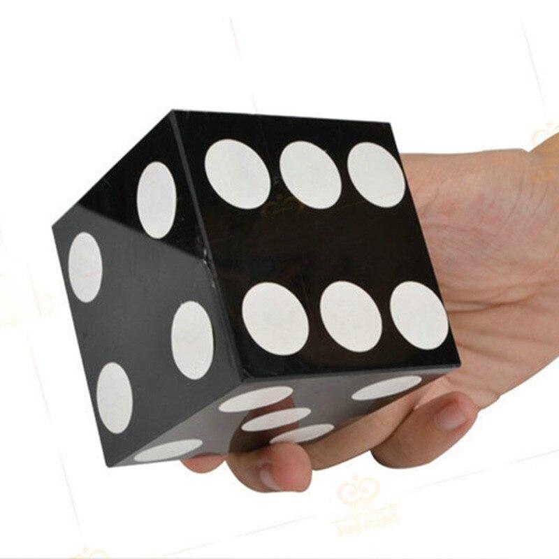 Dés pénétration verre Impossible Die pénétration étape tour de magie mentalisme Illusion Fun Party astuce professionnel spectacle de magie - 3