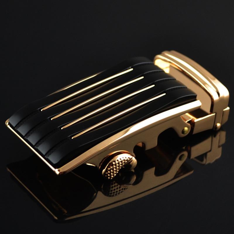 3.5cm Width Mens Belt Buckle Head Mens Belts Luxury Designer Belts Men High Quality Automatic Belt Buckle Silver Gold CE712