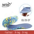 3D Ortopédicos Palmilhas pés chatos para miúdos e Crianças sapatos ortopédicos Arch Suporte palmilha para X-Pernas criança Pé cuidados