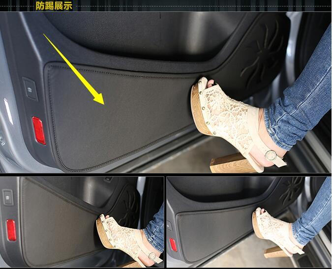 Auto-styling Auto-styling Protector Edge Side Zerbini Pad Protette Anti-calcio Di Protezione Della Copertura Di Caso Per Hyundai Ix25 2014-2017