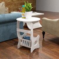 European Style Wood Plastic Coffee Table Multifunction Modern Coffee Desk Eco Friendy Design Living Room Bedroom