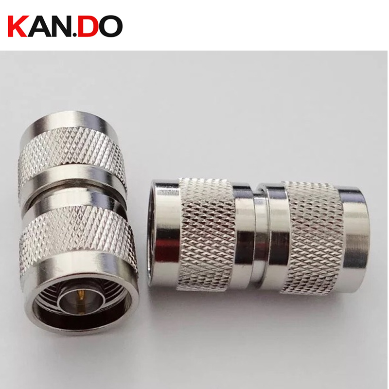 N-N Coaxial cable connector telecom use N male connector CDMA GSM DCS PCS 3G booster cable connector for communication