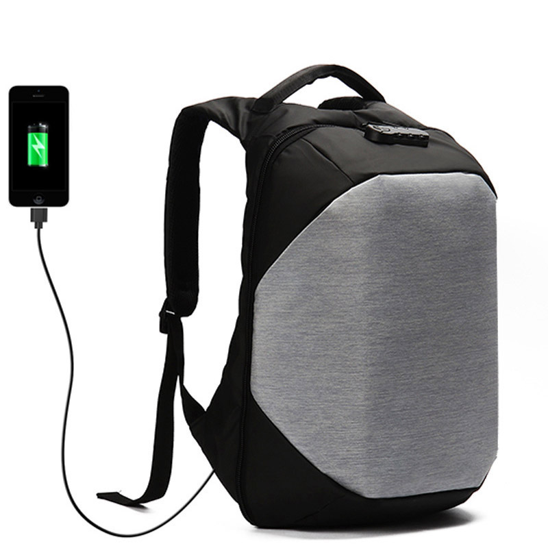 Laptop-Backpacks Anti-Theft-Bags Usb-Charging Teenager Multifunction for Male Mochila