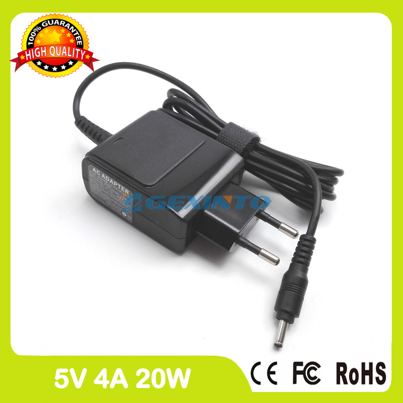 5V 4A Universal AC Adapter Battery Charger for Lenovo Lenovo Miix 320-10ICR 310-10ICR 300-10IBY Ideapad 100S-80R2 EU Plug for lenovo miix 320 tablet keyboard case for lenovo ideapad miix 320 10 1 inch leather cover cases wallet case hand holder fil