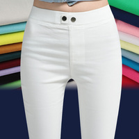 Plus Size Women Pants Capris Pantalon Femme High Waist Thin Super Stretch Pencil Pants Women S