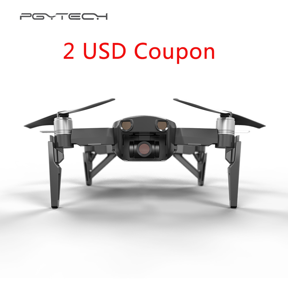 PGYTECH DJI Mavic Air Landing Gear Leg Extended Support Protector Extension Replacement Fit for DJI Mavic AIR Drone Accessories pgytech dji mavic 2 landing gear riser extended landing gear leg for dji mavic 2 pro zoom fly more combo drone accessories parts