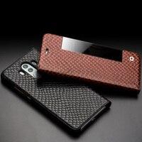 QIALINO Ultrathin Genuine Leather Phone Bag Case For Huawei Mate 10 Luxury Sleep Wake Function Flip