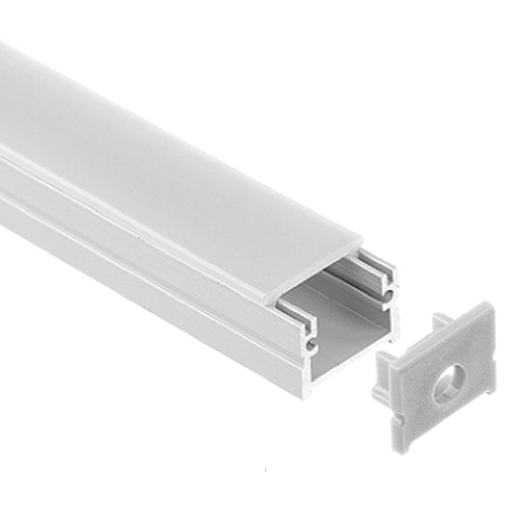 20pcs 40m led profil de aluminiu pentru 5050 5630 led bar rigid de - Iluminat cu LED