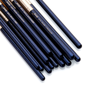 Image 4 - Jessup 15PCS Blu di Prussia/Golden Sands spazzole di Trucco set kit di Bellezza Eye Make up pennello OMBRETTO SPAZZOLA del LABBRO FRULLATORE