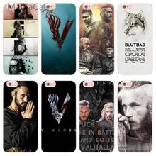 MaiYaCa Vikings series 4 étui pour iphone 8 8 plus 5 5 s SE TPU Transparent pour Apple iphone 5 5s SE et 6 s 6 plus 7 8 coque de téléphone(China)
