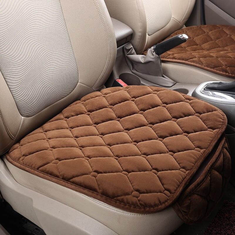Зимние плюшевые сиденья Подушки для Land Rover Discovery 3/4 Freelander 2 Sport диапазон Спорт Evoque стайлинга автомобилей