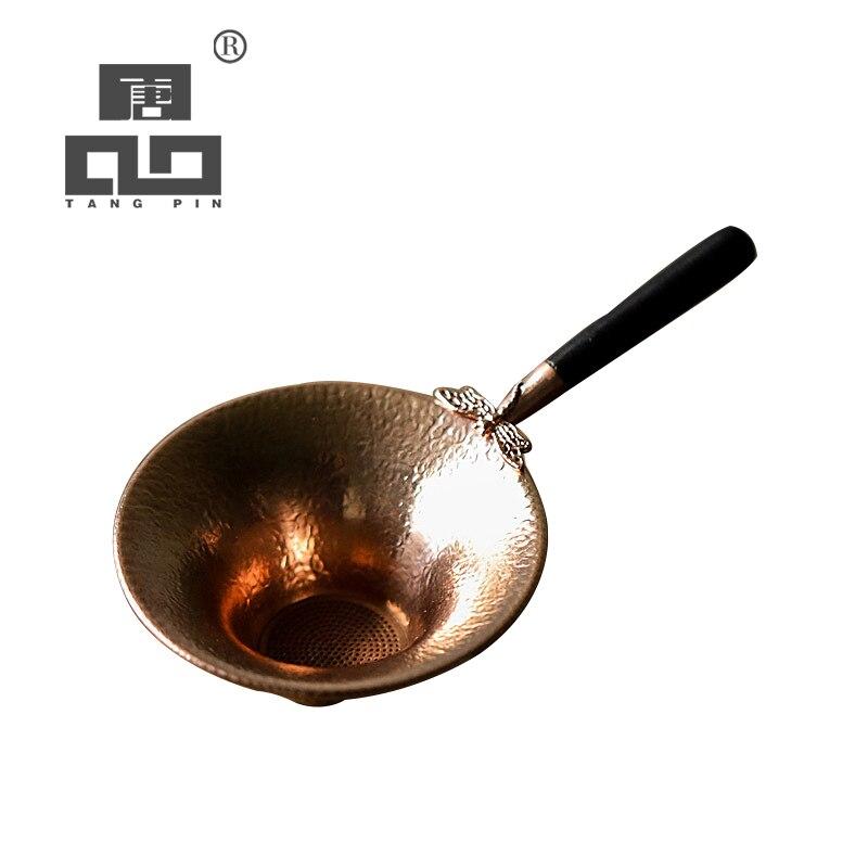 TANGPIN Coffee And Tea Tool Copper Tea Strainers Kung Fu Tea Accessories