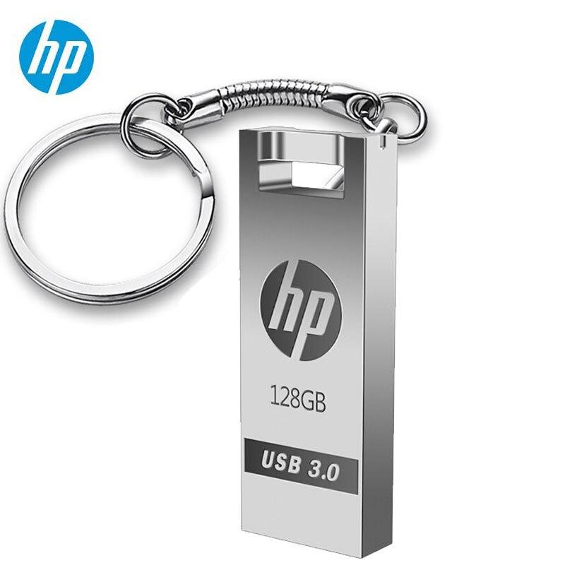 Disco de Flash Original HP USB 3,0 128 GB Pendrive de alta velocidad X795W X765W X715W Metal y disco de plástico en la llave la Cle USB3.0 Dropship 128G