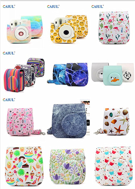 eb5d64e36fd9 CAIUL Fujifilm Instax Mini 8 8+ 9 Camera Case Cover instax mini 9 case Case