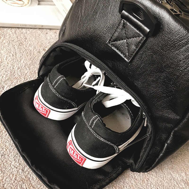 SJ-Maurie/спортивная женская сумка с акулой для занятий спортом из искусственной кожи; женская спортивная сумка для фитнеса и йоги; Bolsa Deporte Hombre Gimnasio