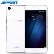 Оригинальный Meizu U20, Глобальная Прошивка, 4G LTE, 5.5 дюймов, 2.5D FHD 1080P MTK Helio P 10 Восьмиядерный, 2ГБ, 16ГБ, Сотовый Телефон, Отпечаток Пальца