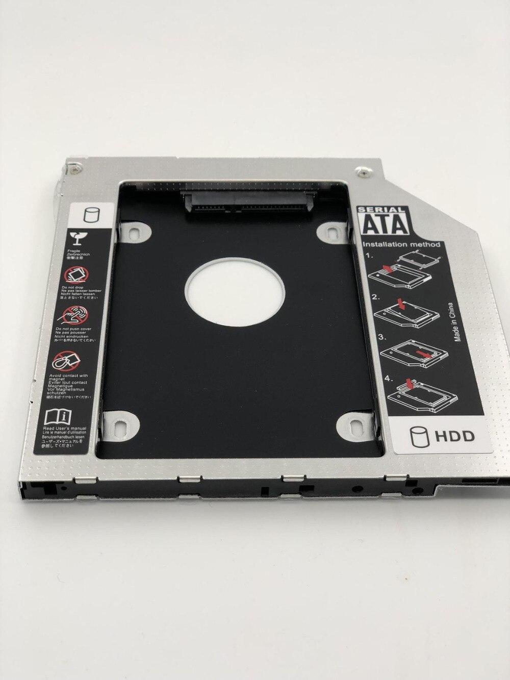 WZSM Новый 2nd SATA HDD SSD жесткий диск Caddy 9,5 мм для lenovo IdeaPad 110-15 ISK/ACL /ИБР/IKB/Издательство АСТ