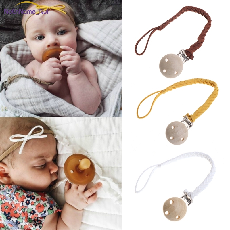 New Leather Pacifier Clips Chain Dummy Clip Pacifier Holder Nipple Soother Chain For Infant Baby Feeding #330